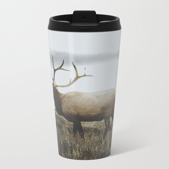 Wyoming Metal Travel Mug