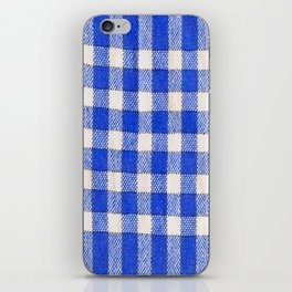 Gingham / vichy Pattern -strips,fashion,squares,french,vichy, gingham,bistrot,textiles,indie iPhone Skin