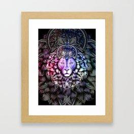 Leo - Colorized Framed Art Print