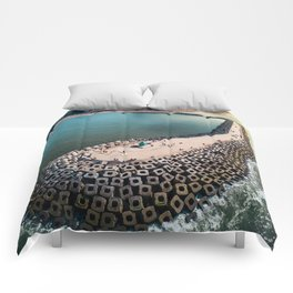 Coast of Belgium Comforters