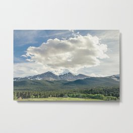 Rocky Mountains – Long's Peak Metal Print