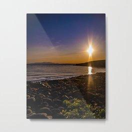 Sunrise in Iceland Metal Print