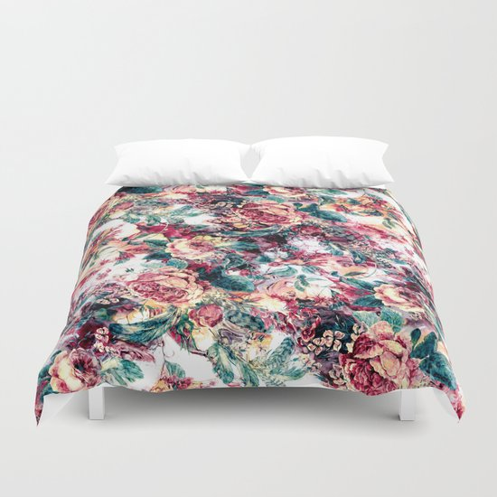 RPE FLORAL ABSTRACT II Duvet Cover