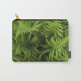 Natures spiral of Fern leaves Carry-All Pouch