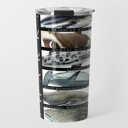 Sharks of the World Travel Mug