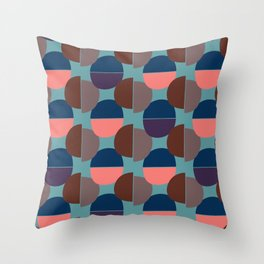 Geometric Abstract #1 Throw Pillow