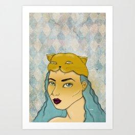 Gata Art Print