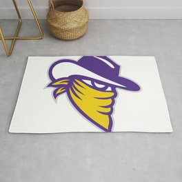 Bandit Covered Face Icon Rug