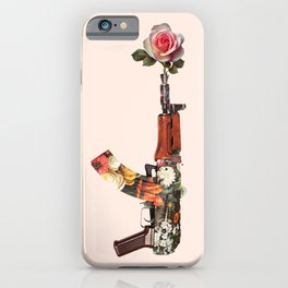 FLOWER GUN iPhone Case