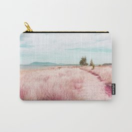 Coastal trail - blush Carry-All Pouch