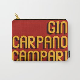 CLASSICS: NEGRONI TYPO Carry-All Pouch