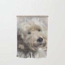 Dog Goldendoodle Golden Doodle Wall Hanging