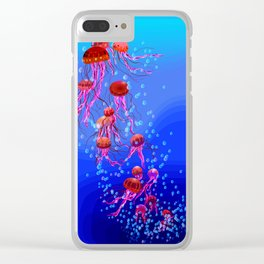 Jelly Dream 1 Clear iPhone Case