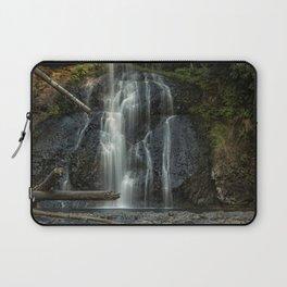 Upper North Falls, Late Summer, Vertical Laptop Sleeve