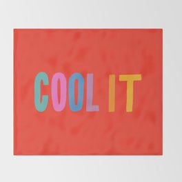 Cool It Throw Blanket