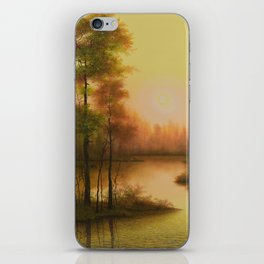 Golden Image iPhone Skin