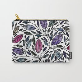Floral Illustration - Leaf - No*25 Carry-All Pouch