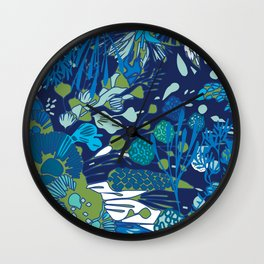 WATER YOU TALKING ABOUT? Wall Clock