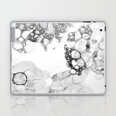 Bubbles Black and White Laptop & iPad Skin