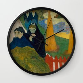 Paul Gauguin - Arlésiennes (Mistral) (1888) Wall Clock
