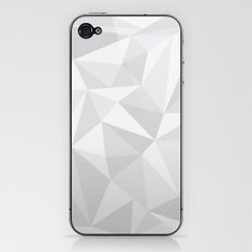 White Deconstruction iPhone & iPod Skin