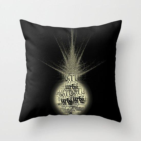 sunlight on Mars Throw Pillow