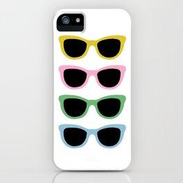 Sunglasses #4 iPhone Case