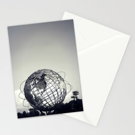 Unisphere at Flushing Meadows Park - New York City, Queens Stationery Cards
