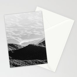 Smoky Mountain Black and White Forest Sunset - 125/365 Stationery Cards