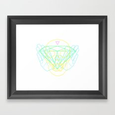 Material Framed Art Print