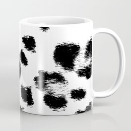 Black & White Leopard Print Coffee Mug