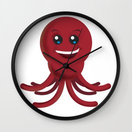 Octobuddy II Wall Clock