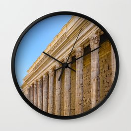 The Pantheon in Rome Italy Wall Clock