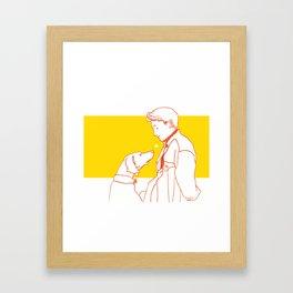 """Kaffee"" Framed Art Print"