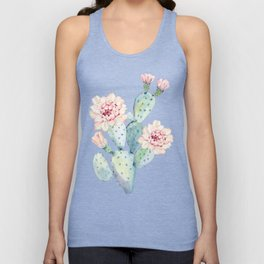 The Prettiest Cactus Unisex Tank Top