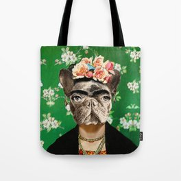 Frida Katy FrenchBulldog Tote Bag