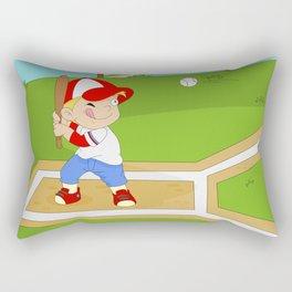 Non Olympic Sports: Baseball Rectangular Pillow