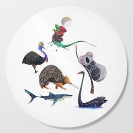 Australian animals Cutting Board