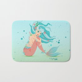 Monster Mermaid Pin-Up Bath Mat