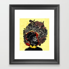 Pipe of Peace and Love Framed Art Print