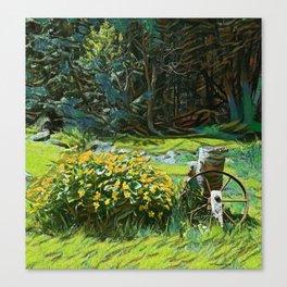 Wagon Wheel landscape Canvas Print