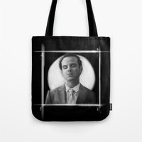 moriarty Tote Bags featuring Moriarty by aizercul
