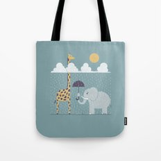 It's Always Sunny Up Here Tote Bag