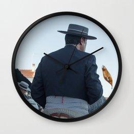 The four horses Wall Clock