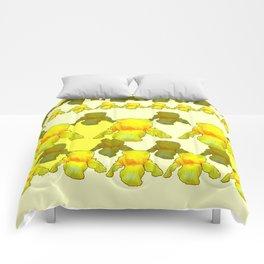YELLOW IRIS FIELDS Comforters