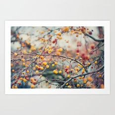 Autumn Poison Art Print