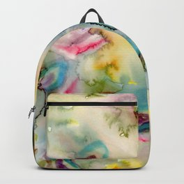 green absstract Backpack