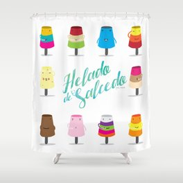 Salcedo's Ice-Cream 2.0 :: Helado de Salcedo 2.0 Shower Curtain