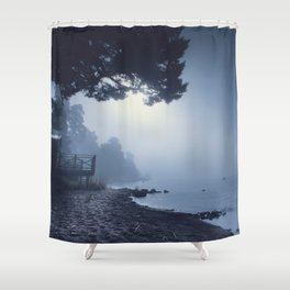 I feed on you Shower Curtain