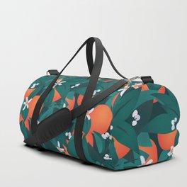 Summery Orange Blossoms Duffle Bag